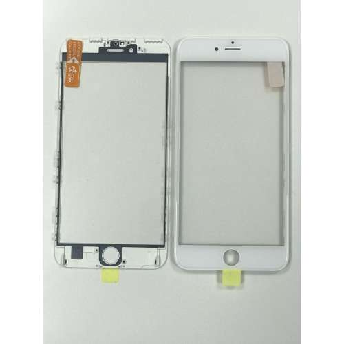 Переслойка Glass with Frame OCA i6s+ white
